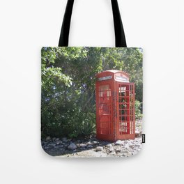 Telephone Box Tote Bag