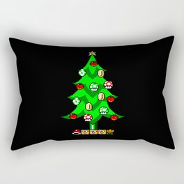 Xmas Games Rectangular Pillow