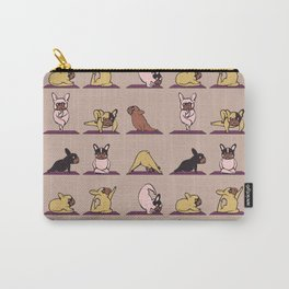 French Bulldog Yoga Carry-All Pouch