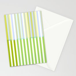 blending stripes Stationery Cards