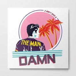 The Man Metal Print