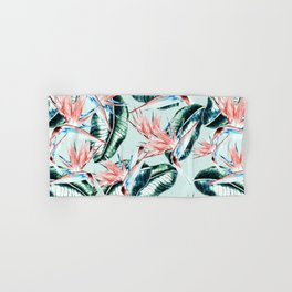 Pattern botanical Hand & Bath Towel