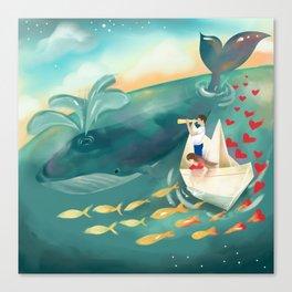 Adventures at Sea Canvas Print