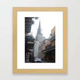 Madison Street Framed Art Print