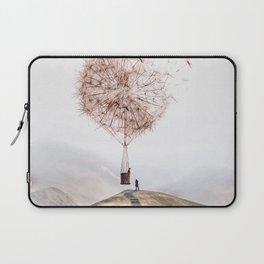 Flying Dandelion Laptop Sleeve