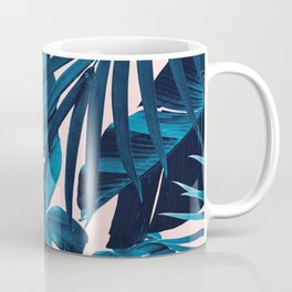 Tropical Jungle Leaves Pattern #6 #tropical #decor #art #society6 Coffee Mug
