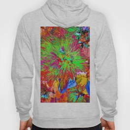 """ Kiwi Lifestyle"" - Pohutukawa NZ Bloom- Pop ART Hoody"