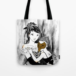 Emathides or the Magpies Tote Bag