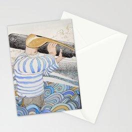 L'ancre en point d'attache. Stationery Cards