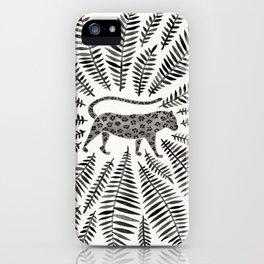 Black Jaguar iPhone Case