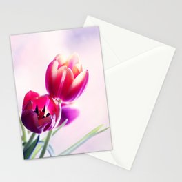 Happy Tulip Greetings Stationery Cards