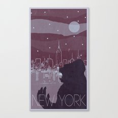 Every City Has Its Creature - New York Canvas Print