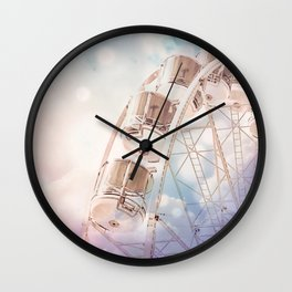 Fantasy dream ride Wall Clock