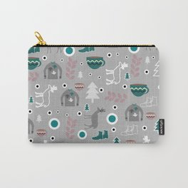 Deer and winter clothing Carry-All Pouch