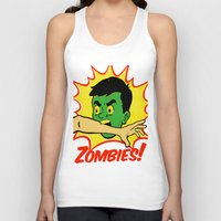 zombies Tank Tops featuring Zombies! by Derek Eads