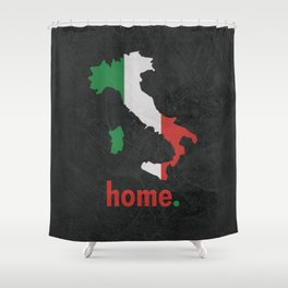 Italy Proud Shower Curtain