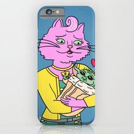Princess Carolyn & Baby iPhone Case