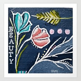 Beauty by Artsee Spree Art Print