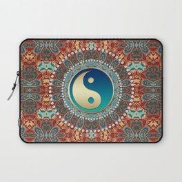 Bohemian Batik Yin Yang Laptop Sleeve
