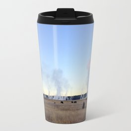 Bison at Sunrise Travel Mug