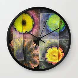 Vanguards Formation Flower  ID:16165-120047-43201 Wall Clock