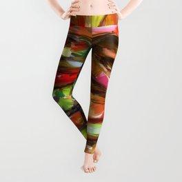 Hamburger Rainbow Leggings