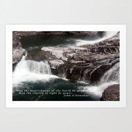 Spokane Falls Art Print