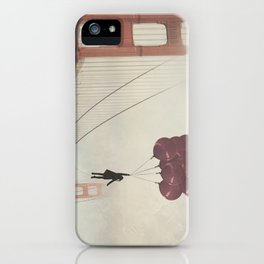 Floating over the Golden Gate iPhone Case