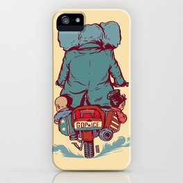 Crime In Progress iPhone Case