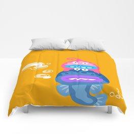 Swimming Monsters Comforters
