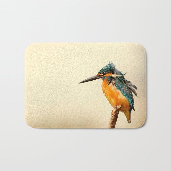 Kingfisher Bird Bath Mat