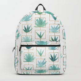 Mid Century Succulents Backpack