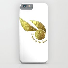 Golden Snitch iPhone Case