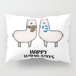 Happy Llama-Days Pillow Sham