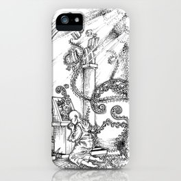 Graven Images - Pantheism iPhone Case