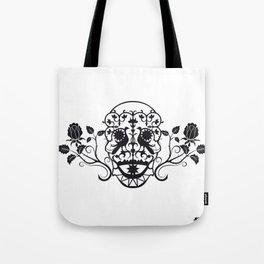 SKULL FLOWER 03 Tote Bag