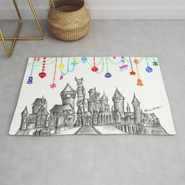 Party at Hogwarts Castle! Rug