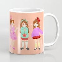 gravity falls Mugs featuring Mabel Pines (Gravity Falls) by peachydraws