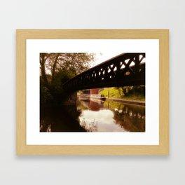 Canal Dreams Framed Art Print