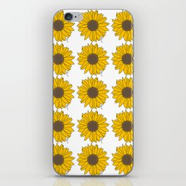 Sunflower Power iPhone Skin