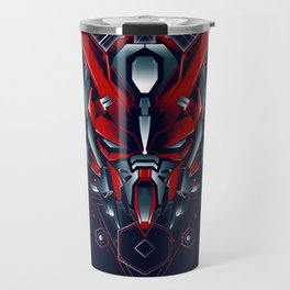 Atray Red Custom sacred geometry Travel Mug