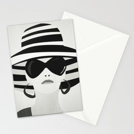 Snapshot (black & white) Stationery Cards