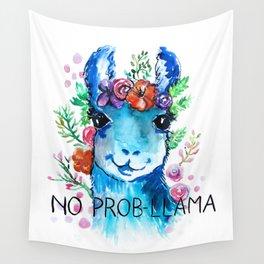 No Prob Llama Wall Tapestry