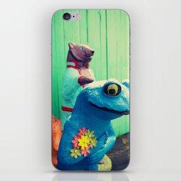 FrogBear iPhone Skin