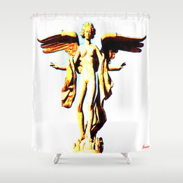 Victoria Alada  ( Winged Victory) Shower Curtain