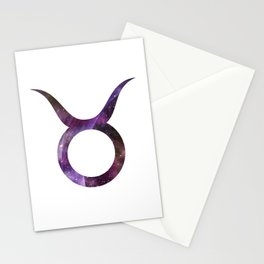 Galactic Taurus Stationery Cards
