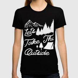 Great Camping T-Shirt. Gift Ideas T-shirt