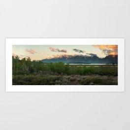 Grand Teton  Art Print