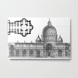 St. Peter Basilica - Rome, Italy Metal Print