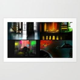 X~ER #1 Art Print